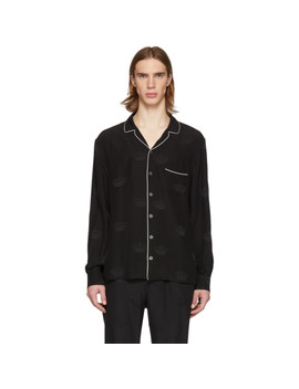 Black Silk Shirt by Dolce & Gabbana
