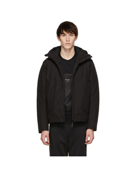 Black Down Gore Tex® Fyn Parka by Norse Projects