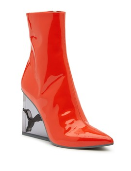 Fenty Puma By Rihanna Cat Patent Leather Wedge Boot by Fenty