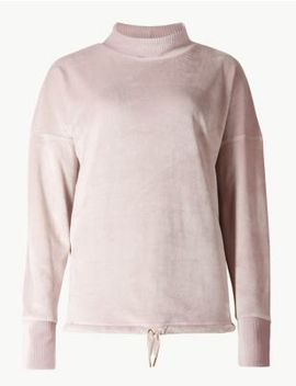 Supersoft Fleece Lounge Top by Marks & Spencer