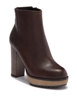 Polacco Donna Stacked Bootie by Manas