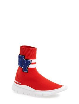 University High Top Sock Sneaker (Women) by Joshua Sanders