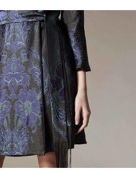 Floral Jacquard Mini Dress by Dd109 Fd073 Zd521 Gd334 Dd140 Dd190 Pd050 Jd033 Dd239