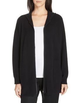 Cashmere Blend Hoodie by Nordstrom Signature