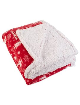 "J&M Home Fashions Plaid Fleece Plush Throw Blanket, 50"" X 60"" by J&M Home Fashions"