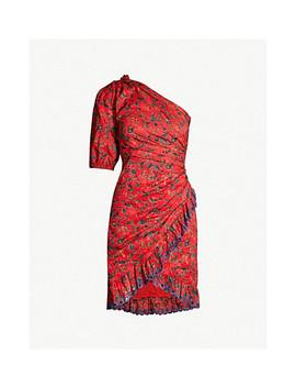 Esther One Shoulder Cotton Dress by Isabel Marant Etoile
