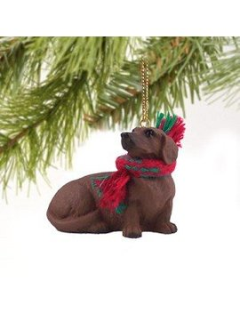 Dachshund Miniature Dog Ornament   Red by Conversation Concepts