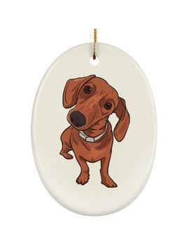 Dachshund Dog Christmas Tree Ornaments Decoration, Dog Lover Gifts Holiday Decor by Etsy