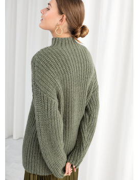 Oversized Alpaca Blend Sweater by & Other Stories