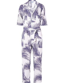 Printed Voile Jumpsuit by Paradised