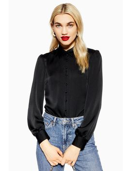 Rouleau Button Shirt by Topshop