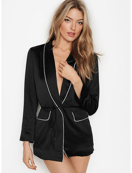 Satin Jacket by Victoria's Secret