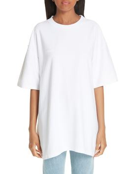 Oversized Inside Out Tee by Vetements