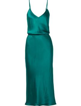 Nouba Silk Satin Dress by Mes Demoiselles