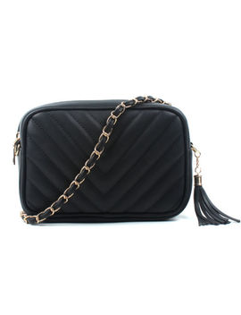 Women Ladies Shoulder Quilted Handbag Gold Chain Faux Leather Cross Body Bag by Ebay Seller