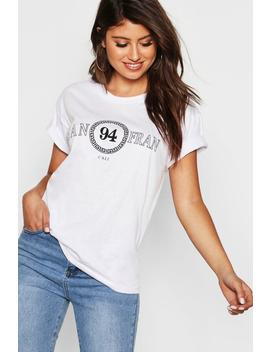 San Fran Slogan T Shirt by Boohoo