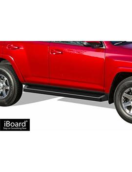 Aps I Board Running Boards (Nerf Bars | Side Steps | Step Bars) For 2010 2016 Toyota 4 Runner Trail & 17 18 Trd Off Road & 2014 2018 Sr5 | (Black Powder Coated Running Board Style) by Aps