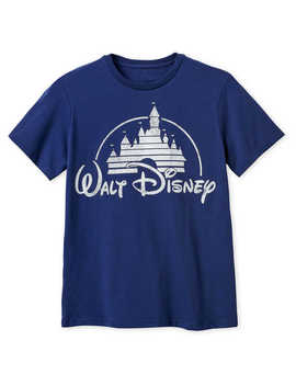 Walt Disney Logo Tee For Men by Disney