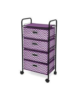 Idea Nuova Urban Shop 4 Tier Rolling Cart by Idea Nuova