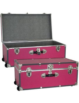 Seward Trunk 30 Inch Footlocker With Wheels by Seward Trunk