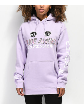By Samii Ryan Pure Angel Lavender Hoodie by Bysamiiryan