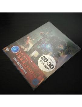 New Iron Man 3 3 D + 2 D Blu Ray Steelbook™ Korea Type B by Ebay Seller
