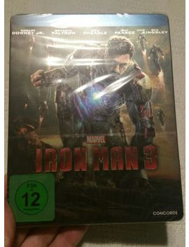 Iron Man 3 Limited Edition  Future Pak Steel Book (German Import A, B & C) by Ebay Seller