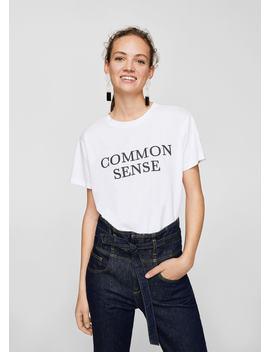 Tricou Common Sense by Mango