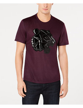 I.N.C. Men's Sequined Panther T Shirt, Created For Macy's by Inc International Concepts