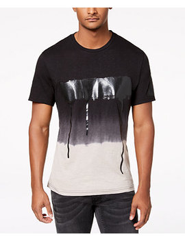 I.N.C. Men's Ombré Graphic T Shirt, Created For Macy's by Inc International Concepts