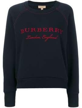로고 스웨터 by Burberry