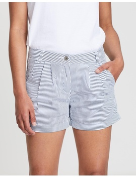 Cotton Poplin Shorts by Dorothy Perkins