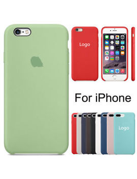 For Apple I Phone X 8 7 6s 6 Plus Luxury Original Genuine Silicone Oem Case Cover by Unbranded/Generic