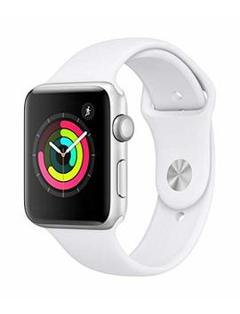 Apple Watch Series 3 (Gps, 42mm)   Silver Aluminium Case With White Sport Band by Apple