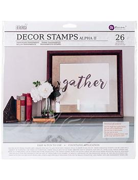 Prima Marketing Iod Decor Stamps Alpha2 by Prima Marketing