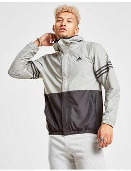 Adidas Colour Block Windbreaker by Adidas