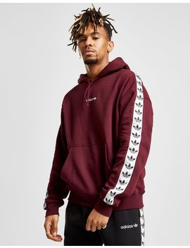 Adidas Originals Tape Overhead Hoodie by Adidas Originals