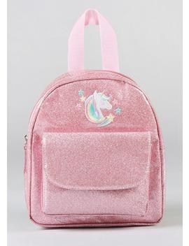 Kids Unicorn Glitter Backpack by Matalan