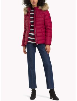 Tommy Jeans Hooded Coat by Tommy Hilfiger