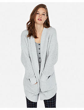 Petite Cozy Chenille Cover Up by Express