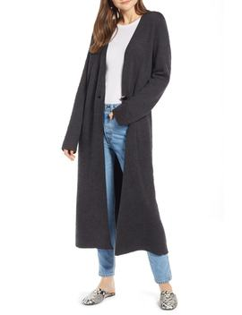Textured Knit Duster by Something Navy