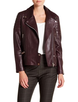 Alea Leather Jacket by Walter Baker