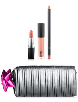4 Pc. Shiny Pretty Things Goody Bag Lip Set   Limited Edition, A $64 Value! by Mac