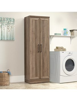 Sauder Home Plus Storage Cabinet, Salt Oak Finish by Sauder
