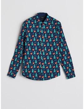 Koszula Z Motywem świątecznym by Reserved