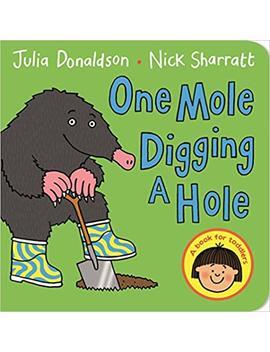 One Mole Digging A Hole by Julia Donaldson