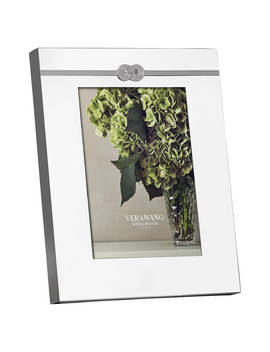 "Vera Wang For Wedgwood Infinity Photo Frame, 5 X 7"" (13 X 18cm), Silver by Vera Wang For Wedgwood"