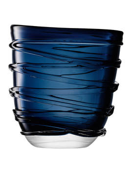 Lsa International Yarn Vase, Large, Blue by Lsa International