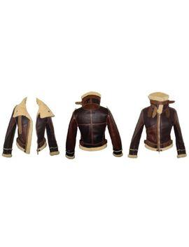 Stunning, Nwt, Super Rare Balenciaga 'palma' Aviation Leather Shearling Jacket by Ebay Seller