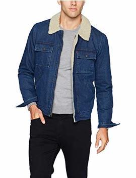 Levi's Men's Denim Sherpa Lined Trucker Jacket by Levi%27s